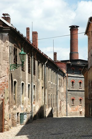 Old brewery in Broumov (Czech Republic)