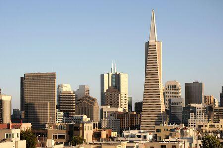 transamerica: San Francisco downtown, California, USA Editorial