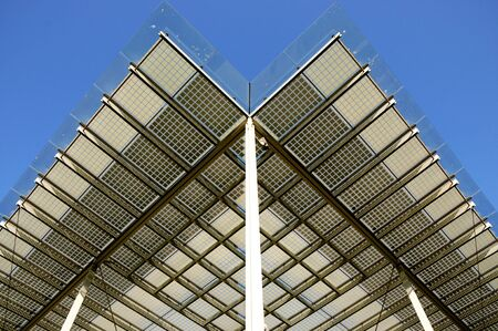Building integrated photovoltaics - shading system