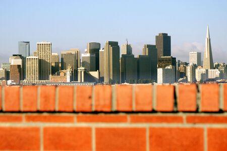 San Francisco - a view from Treasure Island, California, USA