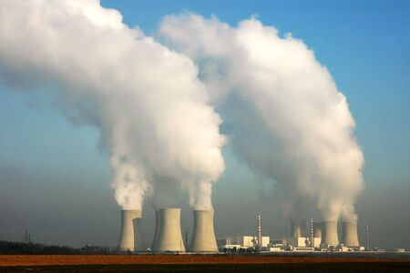 Kernkraftwerk in Dukovany (Tschechische Republik)