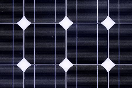 Photovoltaic cell in a solar panel  photo