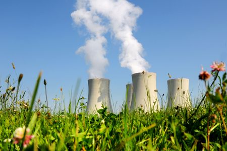 catalytic: Nuclear power plant in Temelin (Czech Republic)    Stock Photo