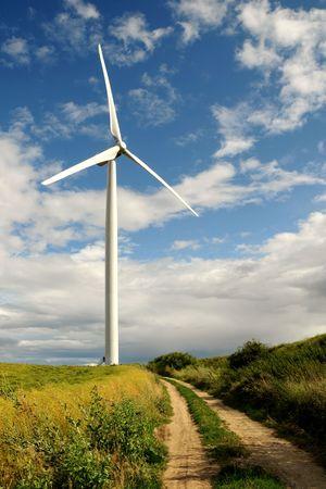 Wind turbine - renewable energy source