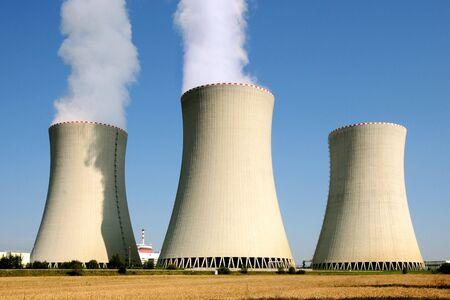 Nuclear power plant in Temelin (Czech Republic)    photo