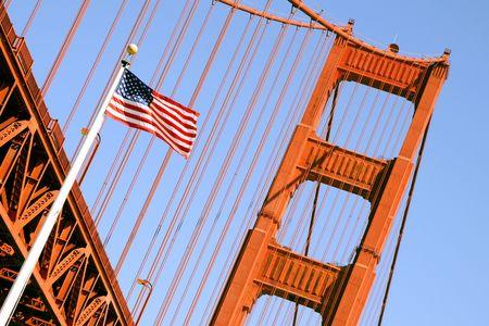 Golden Gate Bridge, San Francisco (USA) Stock Photo
