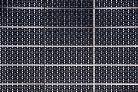 monocrystalline: Solar panels Stock Photo