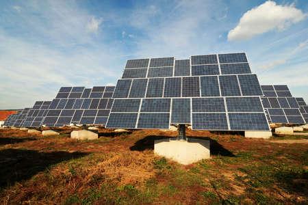 Solar panels - tracking system Stock Photo - 5734737