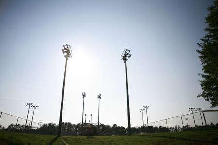 Sport fields Stock Photo
