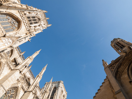 york minster: york minster cathedral of York England