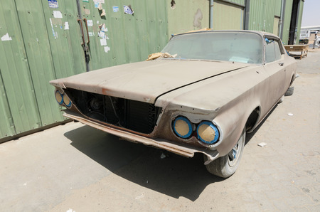 le: 1960 Buick le sabre car left in ruin needing restoration