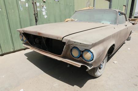 sabre: 1960 Buick le sabre car left in ruin needing restoration