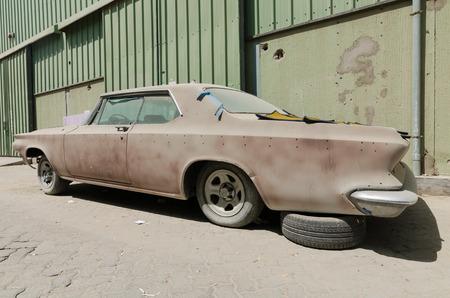 needing: 1960 Buick le sabre car left in ruin needing restoration