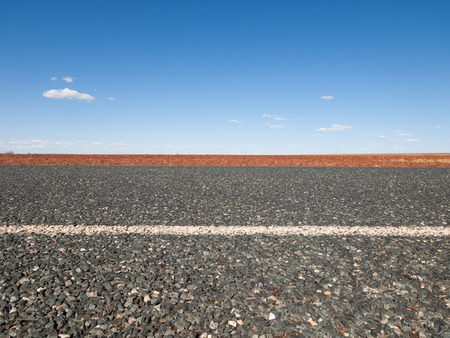 the outback: Australia, Outback, 09102015, Long outback australian road with a beautiful blue sky