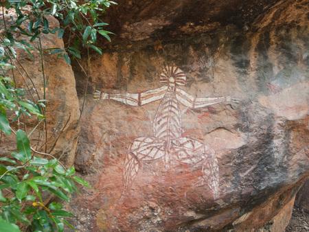 kakadu: Kakadu, Western Australia, 06102013, aboriginal rock art in Nourlangie, Kakadu National park, Northern Territories, Australia
