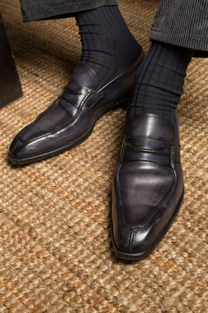 brogue: Luxury mens handmade italian leather brogue shoes