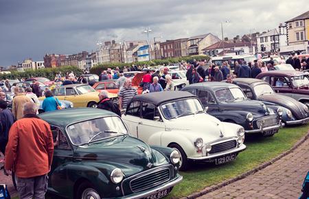 England Morecambe Vintage Retro Car Show At The - Car show england