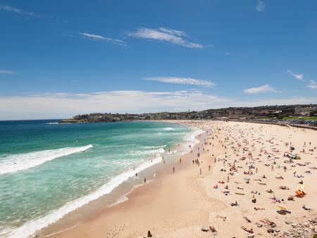 Sydney Bondi Beach, Australia, 03112013, Bondi beach on a perfect sunny day.