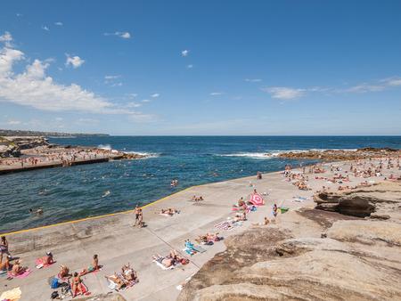 Clovelly, sydney, Australia, 06062013, Clovelly beach on the sydney coast beach to beach walk.