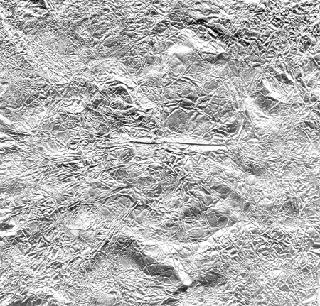 Metallic distressed Aluminium foil background texture aluminium