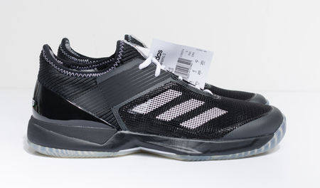 london, England, 05/05/2018 Adidas and  Palace Ubersonic 3.0 Black trainers, UK 8 OFFICIAL GENUINE PALACE SKATEBOARD trainers with box and tags.