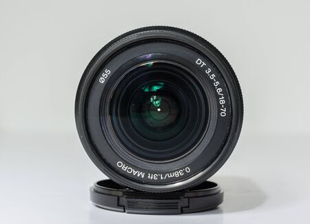 An alpha fit mirrorless digital lens. 18mm - 70mm kit zoom lens for the A series professional cameras. Wide and telephoto lenses for pro photography
