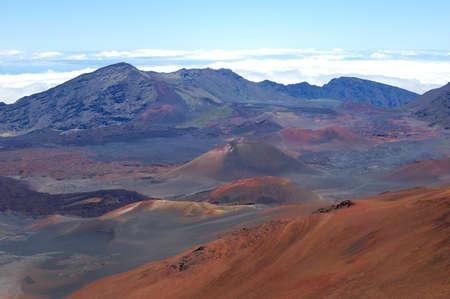 Volcano Crater Banco de Imagens