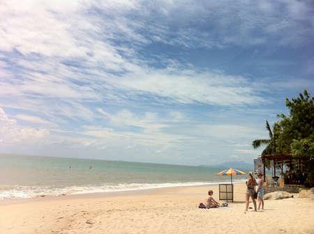 Batu Ferringhi beach. Penang Stock Photo - 21849413