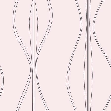 Mid-century light pink curvy shapes Banco de Imagens - 143088570