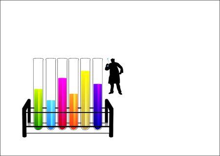 Mad Scientist Stock Illustratie