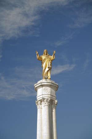 jesuschrist: Jesuschrist in Fatima Sanctuary, Portugal