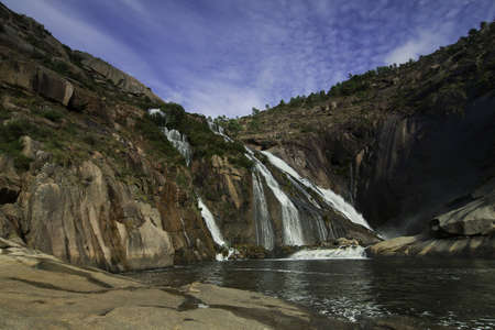 galicia: Ezaro Cascade and Xallas River in Galicia, Spain
