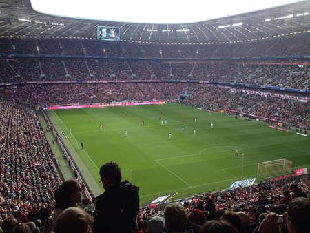 Allianz Arena home of the German giants Bayern Munich