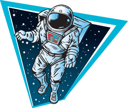 zero gravity: Astronauta