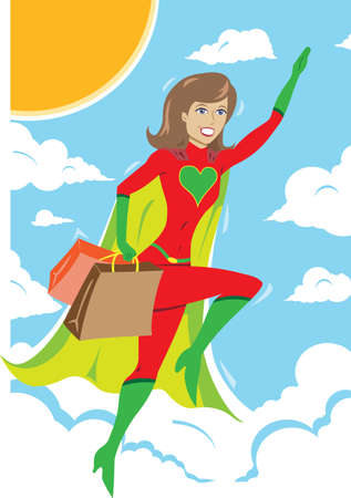 freedom woman: Superheroine Shopper