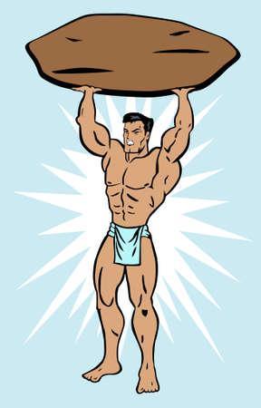 hombre fuerte: Hombre fuerte