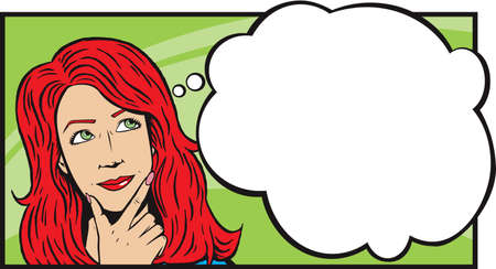 frau nach oben schauen: Frau denken oder Tagtr�umen