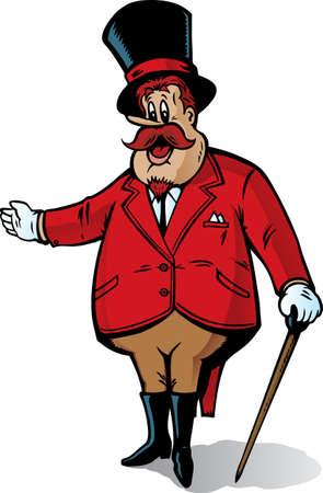 Circus Announcer Stock Vector - 4413632