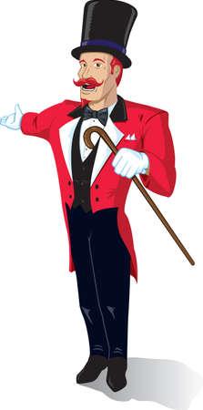 redhair: Circus Announcer