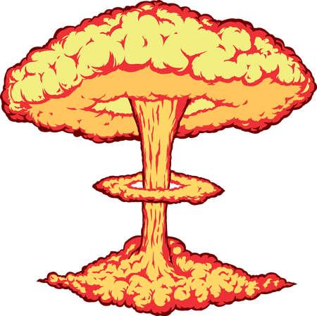 explodindo: Explosão nuclear