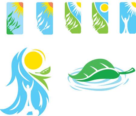 freedom logo: Iconos de Zen Vectores