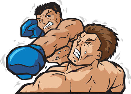 Knockout Punch  Archivio Fotografico - 6250020