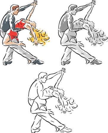 salsa dancing dip