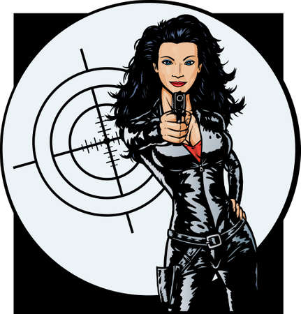 Sexy Secret Agent girl