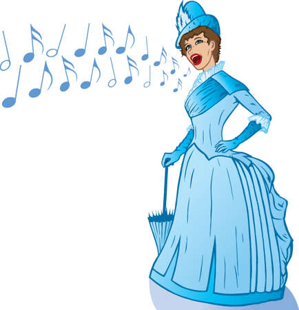 belle: French Belle singing.