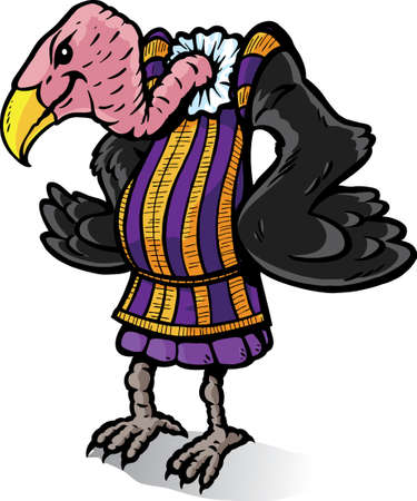 describe: Victorian Vulture, can be used to describe plagiarism