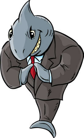 grinning: Business Shark