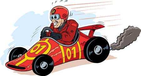 Speed Demon Stock Illustratie