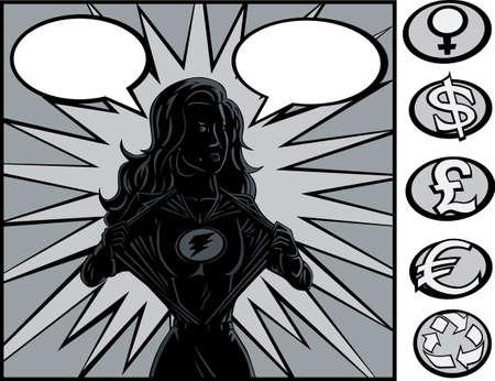 スーパー ヒーローの変更