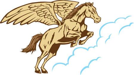 Pegasus Stock Vector - 14125020